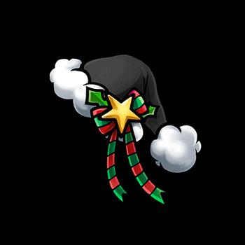 Gear-Black Santa Hat Render