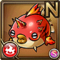 Gear-Burn Puffer Icon