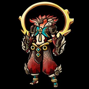 Gear-Divine Beast Holy Garb Render