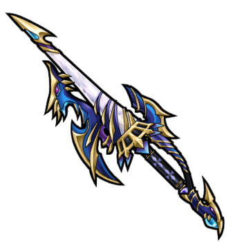 Gear-Divine Dragoon Spear Render