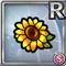 Gear-Sunflower Hair Clip Icon