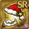 Gear-Red Santa Hat & Beard Icon