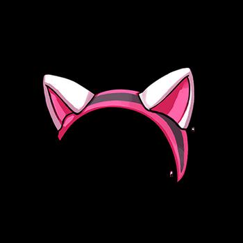 Gear-Cat Ear Headband Render