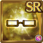 Gear-Gold Half Rim Glasses Icon