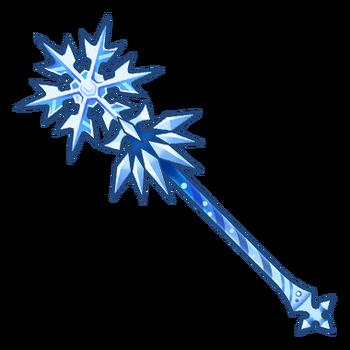 Gear-Ice Staff Render