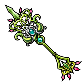 Gear-Sacred Tree Staff Render