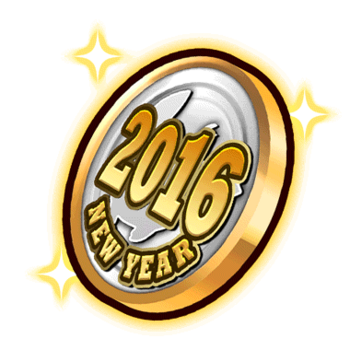 Item-2016 New Year Medal Render