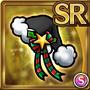 Gear-Black Santa Hat Icon