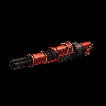 Gear-Heavy Revolver Render