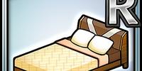 Casual Bed (Umber) (Furniture)