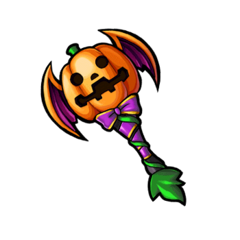 Gear-Pumpkin Axe Render