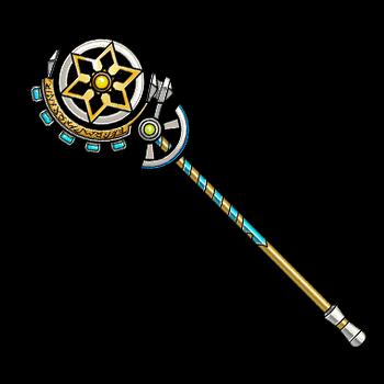 Gear-Rune Wand Render