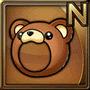 Gear-Bear Head Icon