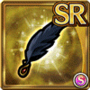 Gear-Black Swan Ornament Icon