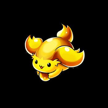 Gear-Big Gold Limimin Render