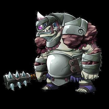 Gear-Armored Cyclops Render