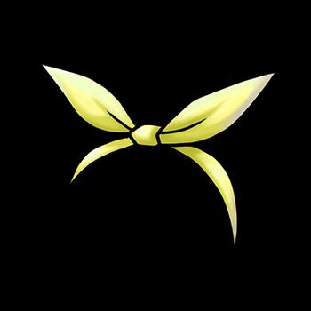 Gear-Yellow Rabbit Ribbon Render