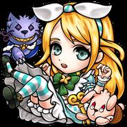 Gear-Alice SD Icon (Three Kingdoms Smash!)