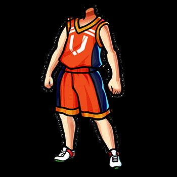 Gear-Basketball Uniform (O) Render