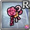 Gear-Pink Japanese Hair Clip Icon