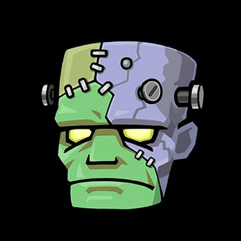 Gear-Frankenstein Head Render