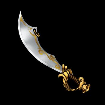 Gear-Pirate Sword Render