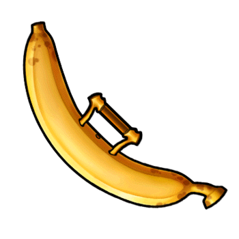 Gear-Ripe Banana Render