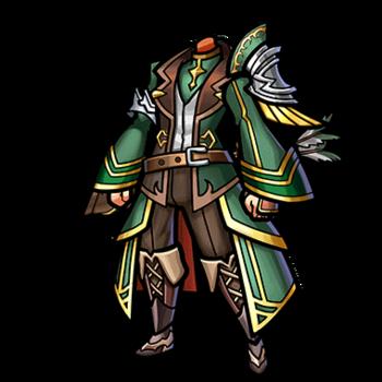 Gear-Divine Grace Overcoat Render