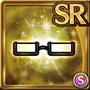 Gear-Black Half Rim Glasses Icon