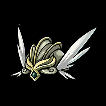 Gear-Valkyrie's Winged Helm Render