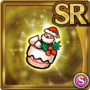Gear-Xmas Cake Hat Icon