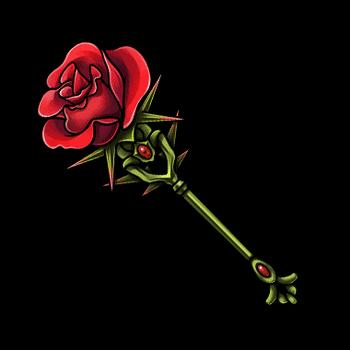 Gear-Rose Wand Render