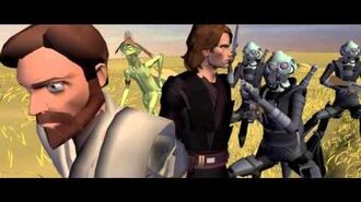 Star Wars The Clone wars Story Reel 2 in search of the crystal