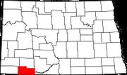 200px-Map of North Dakota highlighting Adams County svg