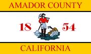 Flag of Amador County, California