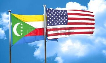 58230473-comoros-flag-with-american-flag-3d-rendering
