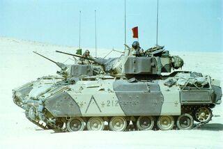 M3 Bradleys