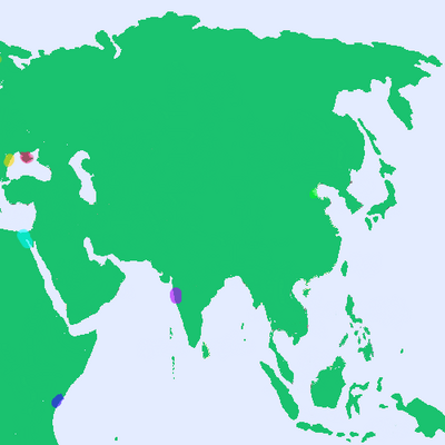 Asian Political Map
