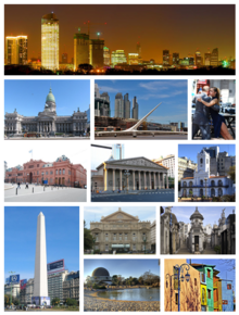 Buenos Aires City Collage