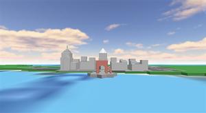 City skyline thing