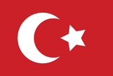 Ottoman empire flag JEFF