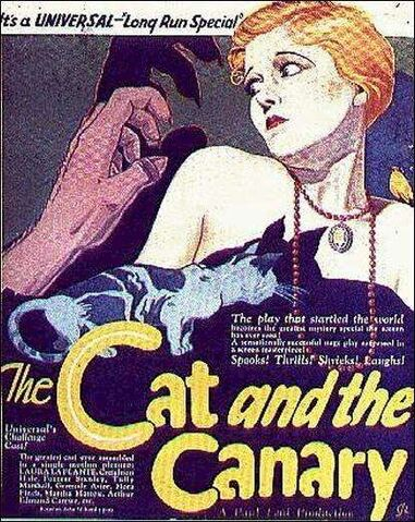 File:CatandtheCanaryPoster.jpg
