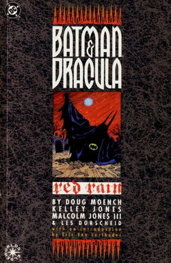 Batman Dracula Red Rain TPB cover
