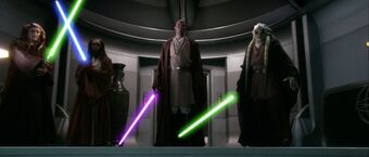Duel on Coruscant
