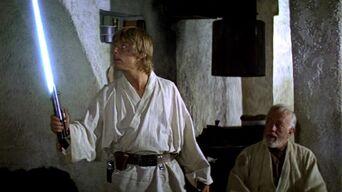 Luke and Kenobi
