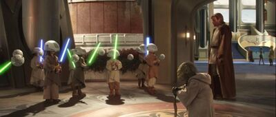 Yoda with Younglings
