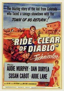 Poster of the movie Ride Clear of Diablo