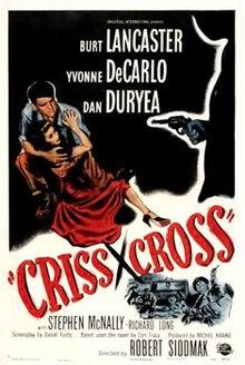 Criss Cross (film) poster
