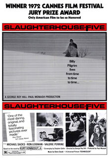 Original movie poster for the film Slaughterhouse-Five