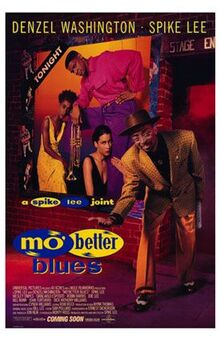 Mo' Better Blues; Movie poster